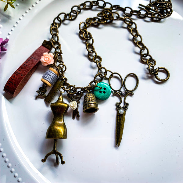 Seamstress Necklace