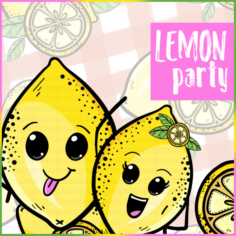 LEMON PARTY COLLECTION