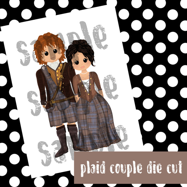 PLAID COUPLE PRINTABLES