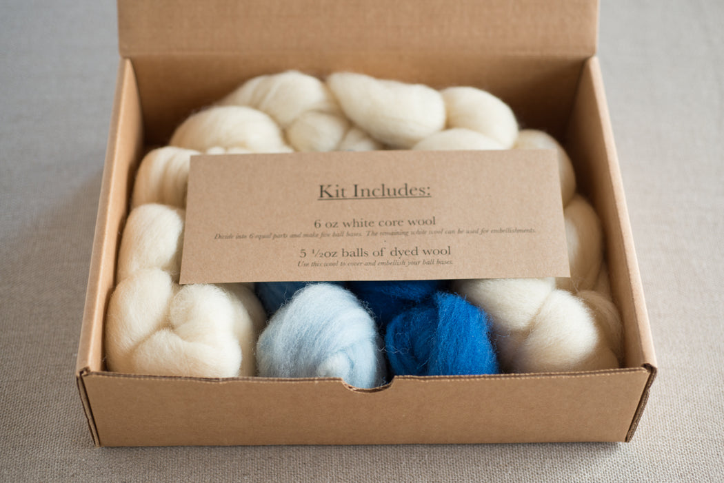 Needle Felting Kit: Dots