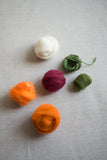 Needle Felting Kit: Carrots & Radishes