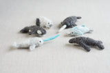 Needle Felting Kit: Narwhal & Friends