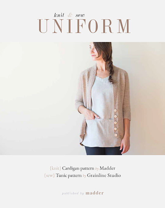 Madder - UNIFORM - knit & sew / Book & E-Book