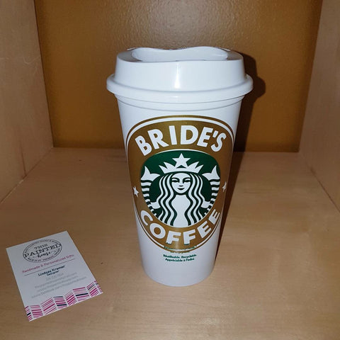 'Bride's Coffee' Starbucks Cup