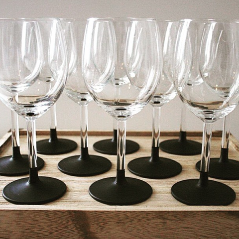 Chalkboard Wine Glasses