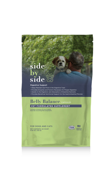 Belly Balance | Digestive Support Supplement for Pets (front)