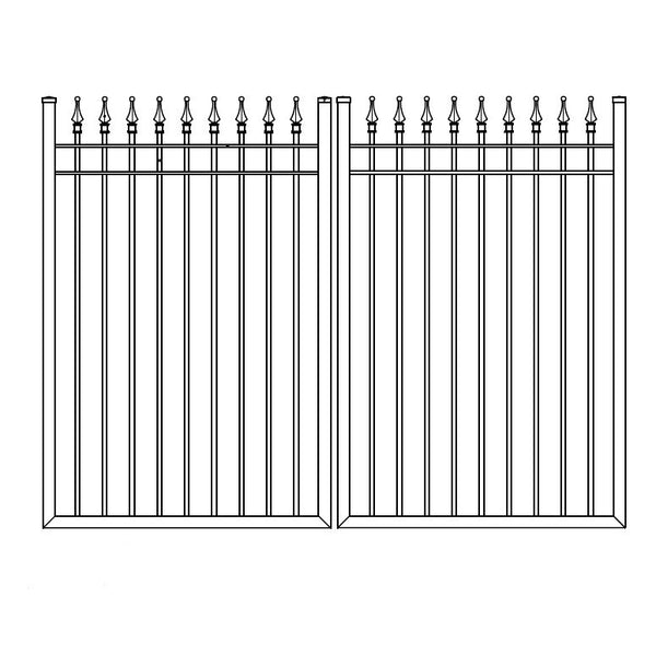 Premium Double Walk Gate