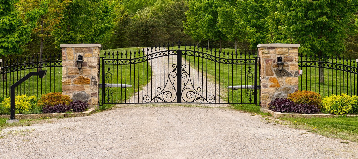 Wrought Iron & Aluminum Gates