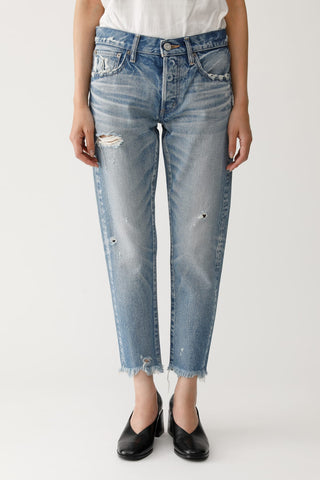 Moussy Vintage Kelley Tapered: L/Blu