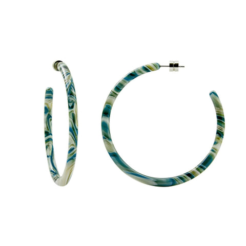 Machete Large Hoops: Stromanthe