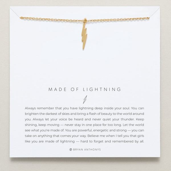Bryan Anthonys Made of Lightning Necklace