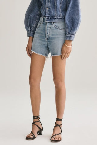 AGOLDE Reese Relaxed Short: Wonder