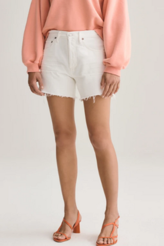 AGOLDE Reese Relaxed Short: Tissue