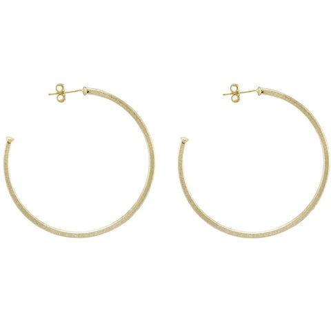 Sheila Fajl Perfect Hoop: 18k Gold