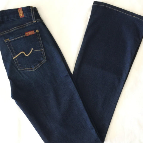 7 For All Mankind Kimmie Bootcut: 25 (Inherited)