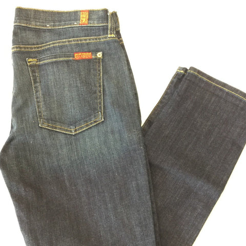 7 For All Mankind The Skinny Crop and Roll: 29 (Inherited)