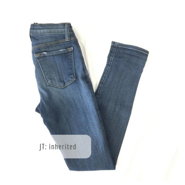 J Brand Skinny Misfit: 25 (inherited)