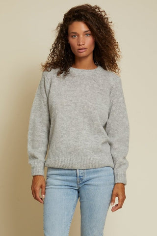 Nation Megan Sweater: Oyster