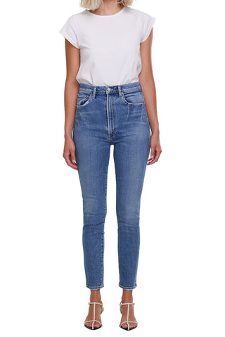 AGOLDE Pinch Waist Skinny: Amped