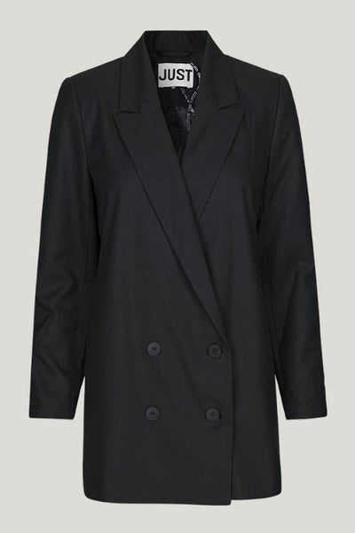 Just Female Watson Blazer: Black