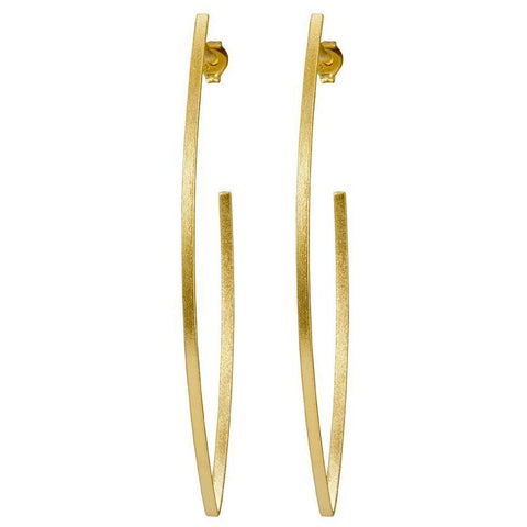 Sheila Fajl Peter Hoops: 18k Gold