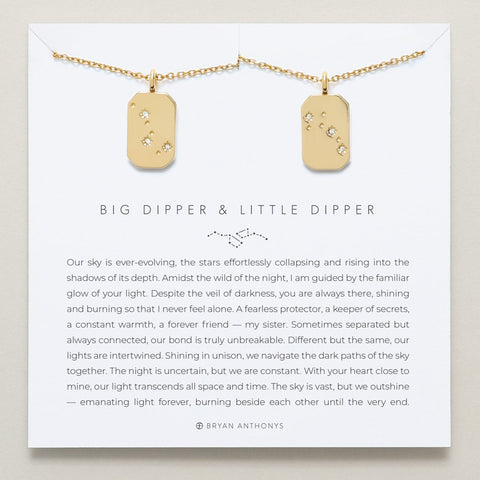 Bryan Anthonys Big Dipper & Little Dipper Necklace