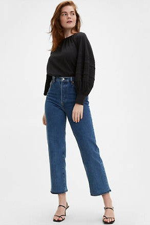 Levi's Ribcage Straight Ankle: Georgie