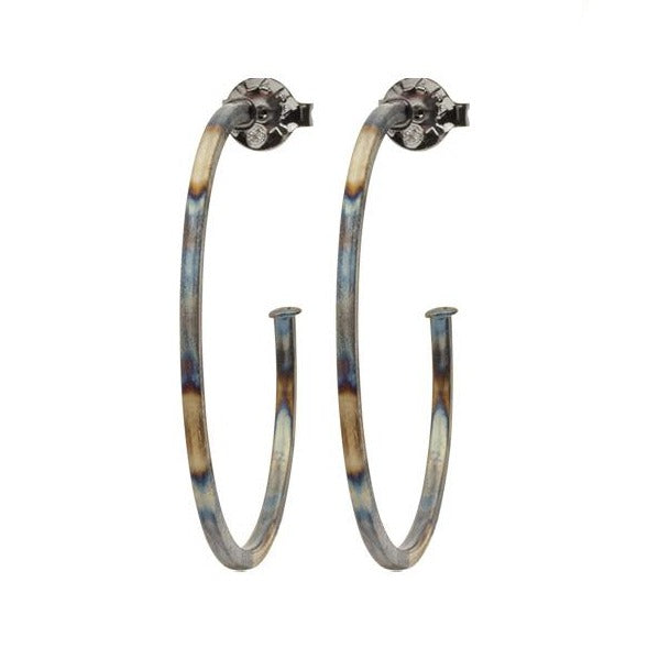 Sheila Fajl Perfect Hoop: Burnished Gunmetal
