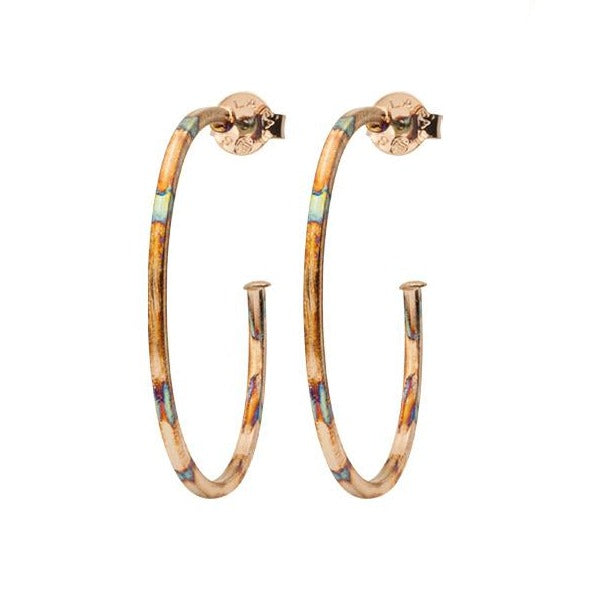 Sheila Fajl Perfect Hoops: Burnished Gold