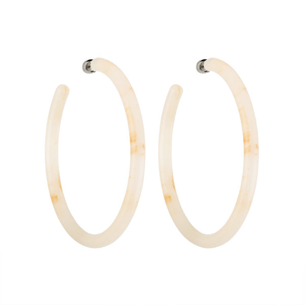 Machete Large Hoop: Peach