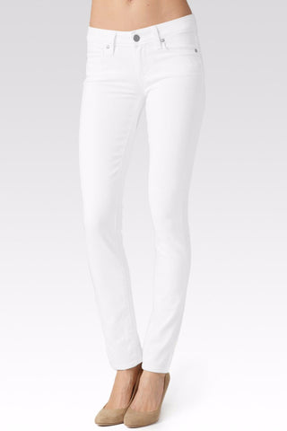 Paige Skyline Skinny: Optic White