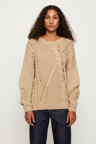 Just Female Via Knit: Cobblestone