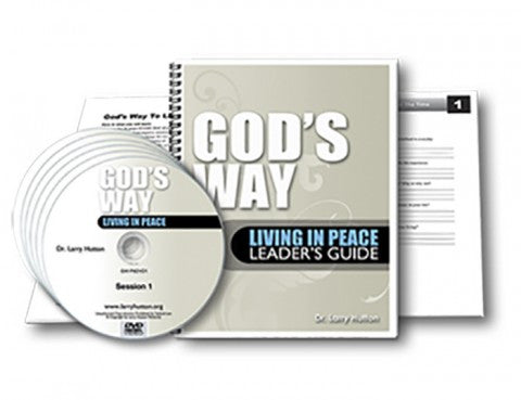 Living In Peace Bible Study Course [Dvd's]