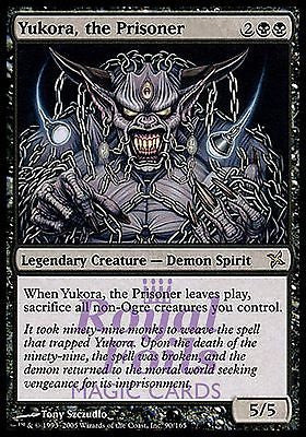 **1x FOIL Yukora the Prisoner* BOK MTG Betrayers Kamigawa Rare MINT black