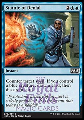 Near Mint 4 x Staff of the Flame Magus Uncommon M15 Magic 2015 Core Set
