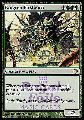 **1x FOIL Fangren Firstborn** DST MTG Darksteel Rare MINT green