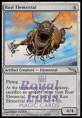 **1x FOIL Rust Elemental** MDN MTG Mirrodin Uncommon MINT artifact