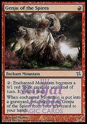 **1x FOIL Genju of the Spires* BOK MTG Betrayers Kamigawa Uncommon MINT red