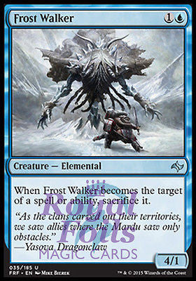 **3x FOIL Frost Walker** FRF MTG Fate Reforged Uncommon MINT blue