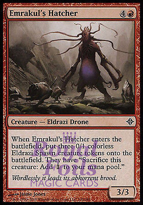 **1x FOIL Emrakul's Hatcher** ROE MTG Rise of Eldrazi Common MINT red