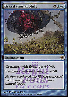 **1x FOIL Gravitational Shift** ROE MTG Rise of Eldrazi Rare MINT blue