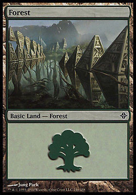**1x FOIL Forest #246** ROE MTG Rise of Eldrazi Basic Land MINT green