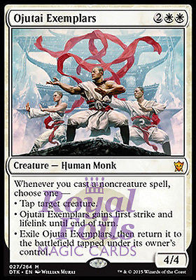 **1x FOIL Ojutai Exemplars* DTK MTG Dragons of Tarkir Mythic MINT white
