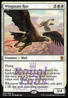 **1x FOIL Wingmate Roc** KTK MTG Khans of Tarkir Mythic MINT white