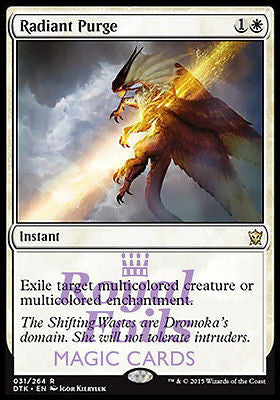 **2x FOIL Radiant Purge** DTK MTG Dragons of Tarkir Rare MINT white