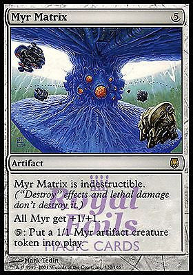 **1x FOIL Myr Matrix** DST MTG Darksteel Rare MINT artifact