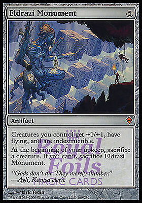 **1x FOIL Eldrazi Monument** ZEN MTG Zendikar Mythic NM artifact