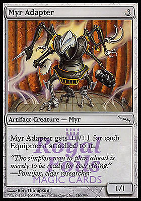**4x FOIL Myr Adapter** MDN MTG Mirrodin Common MINT artifact