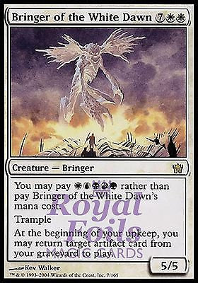 **1x FOIL Bringer of the White Dawn** 5DN MTG 5th Fifth Dawn Rare MINT