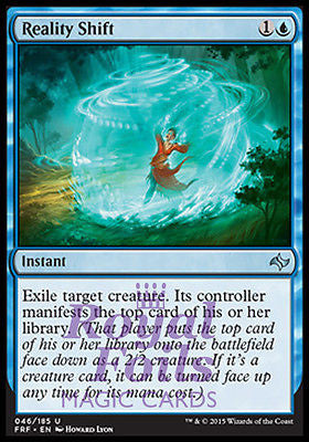 **1x FOIL Reality Shift** FRF MTG Fate Reforged Uncommon MINT blue